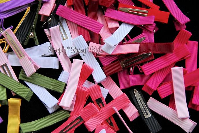 150 Partially Lined Single Prong Alligator Clips