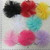 Tulle Rosette Flower Tutus embellishments - 2pcs many colors