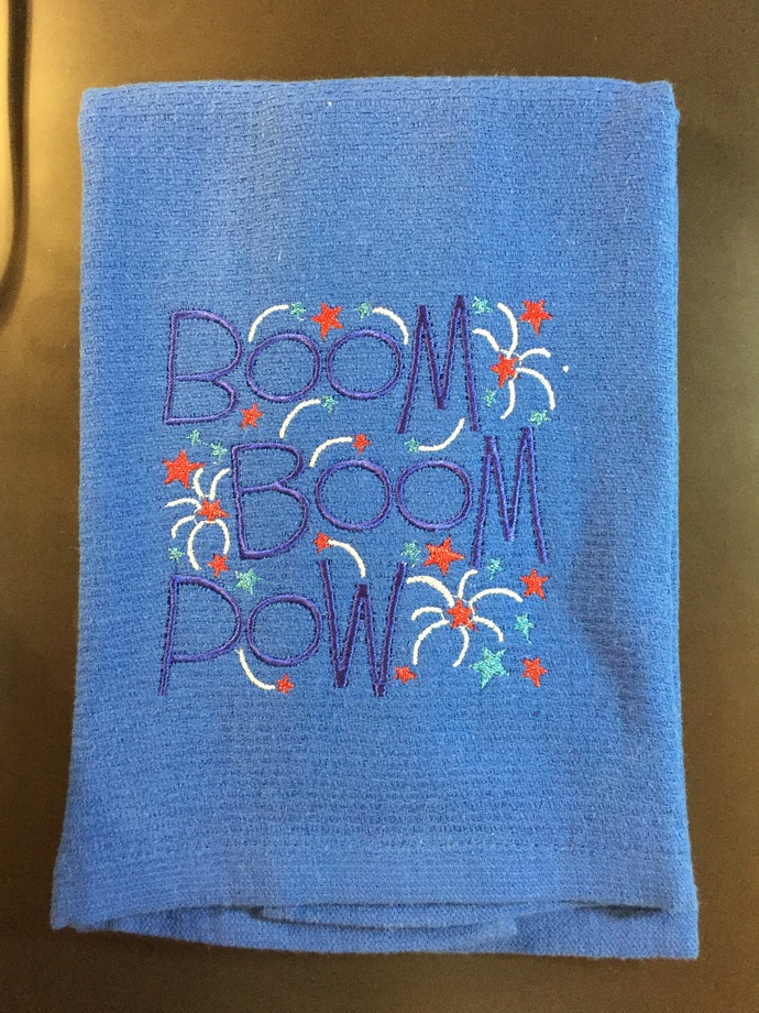4TH OF JULY towel