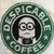 DESPICABLE COFFEE flour sack towel