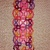 Pink, Yellow and Burgandy Button Tatted Book Mark