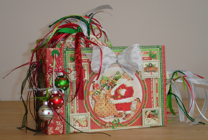 Twas the Night Before Christmas Photo Album Handmade OOAK
