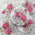 Wood Two Hole Buttons Embellishment - 30mm Soft Shabby Floral 5pcs