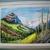 Mountain Landscape Painting, fine art, realism, original, rustic, home decor,