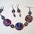 Kazuri Bracelet & Earring Set, Item #387