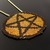 Bead loomed Pagan Wiccan pentacle symbol pendant