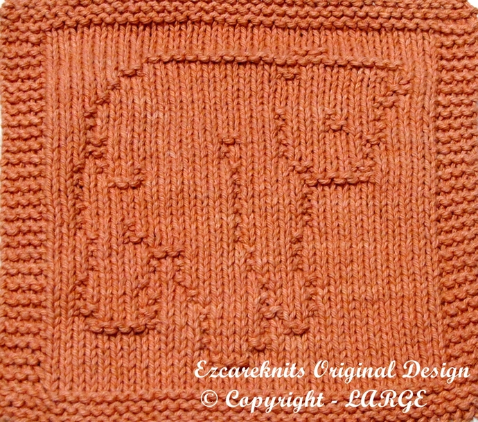CUTE CUB - Cloth Knitting Pattern - PDF