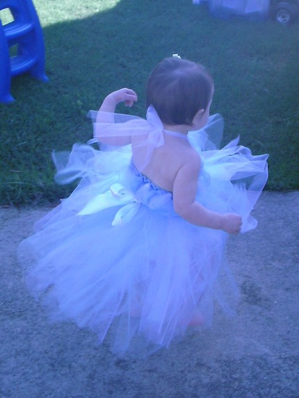 Cinderella Goes to the Ball - Tutu dress with clip