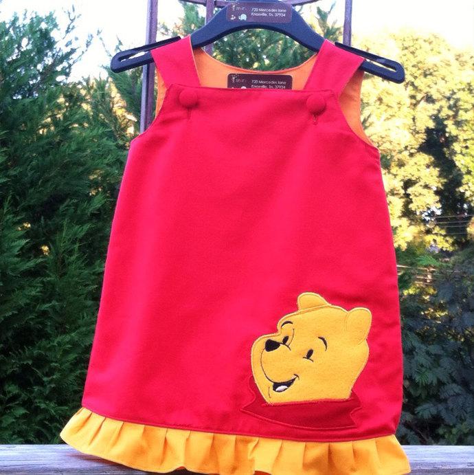 Winnie the Pooh a line dress