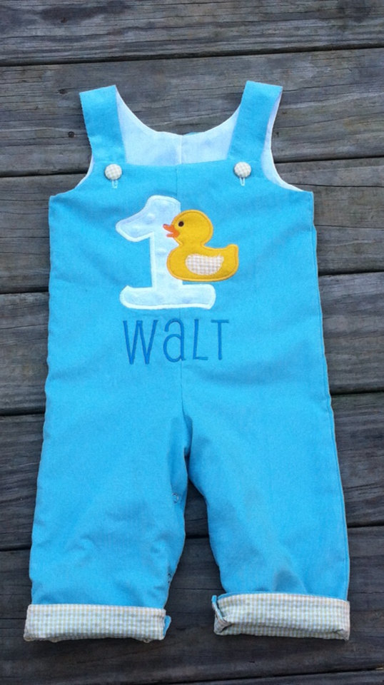 Rubber duck Ducky personalized birthday LONGALL