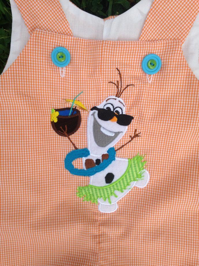 OLAF, frozen snowmen, summer celebration Jon Jon