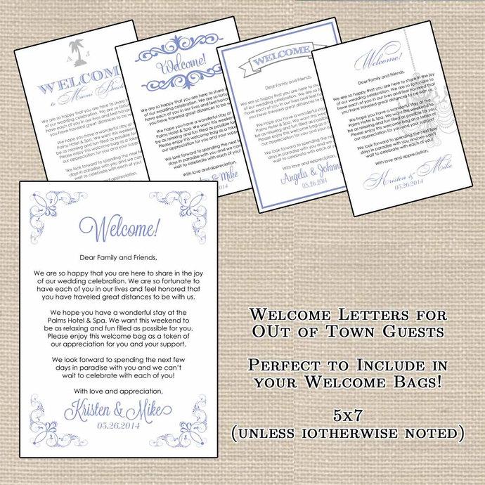 Hotel welcome bag letters and wedding designsbydvb hotel welcome bag letters and wedding itinerary or info side printable bundle altavistaventures Choice Image