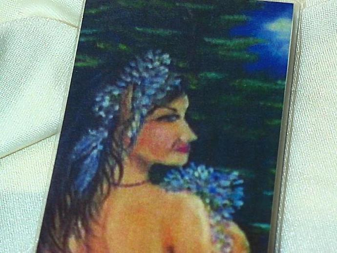 bookmark from my original artwork elf indian maiden laminated and double sided