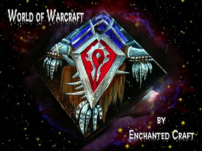 World Of Warcraft HORDE Box-  get your name on it
