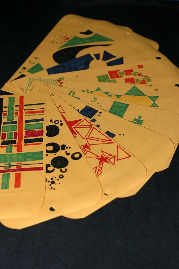 Joseph's Art-velopes: hand-drawn envelopes for gifts, presentations, or storage