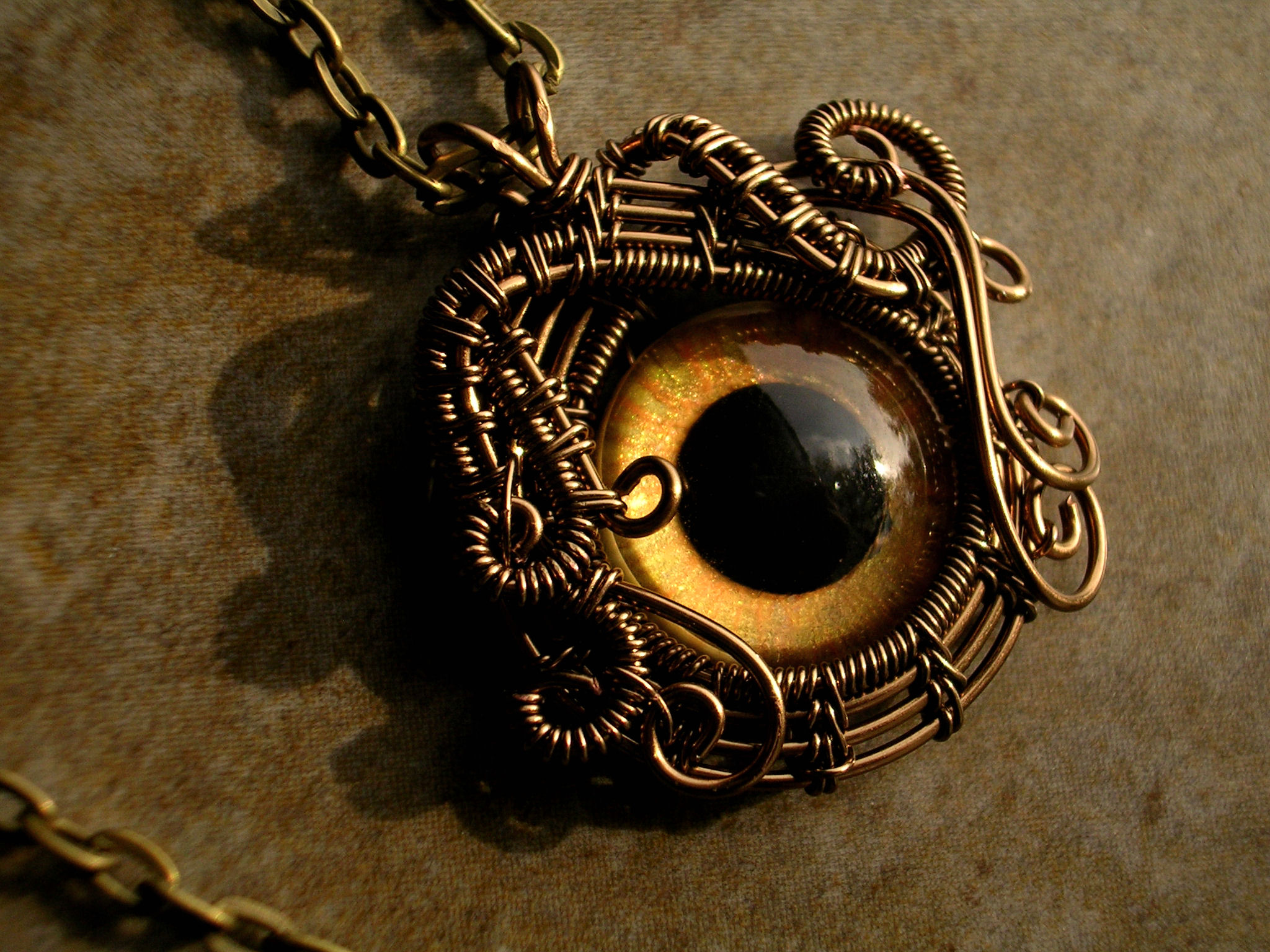 original on evil necklace gold setting product blue detailed in pendant swarovski eye