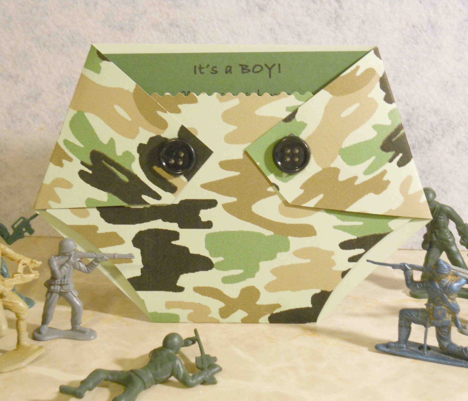 Green camo baby shower invitation diaper by kards by kaylee on zibbet filmwisefo
