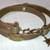Saddle Brown Leather Wrap Bracelet  Item #1402