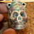 Glazed Skull Vessel