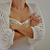 Handmade Ivory Romantic and Soft Shrug