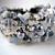 Arctic Semi Precious Stone Cuff  Bracelet