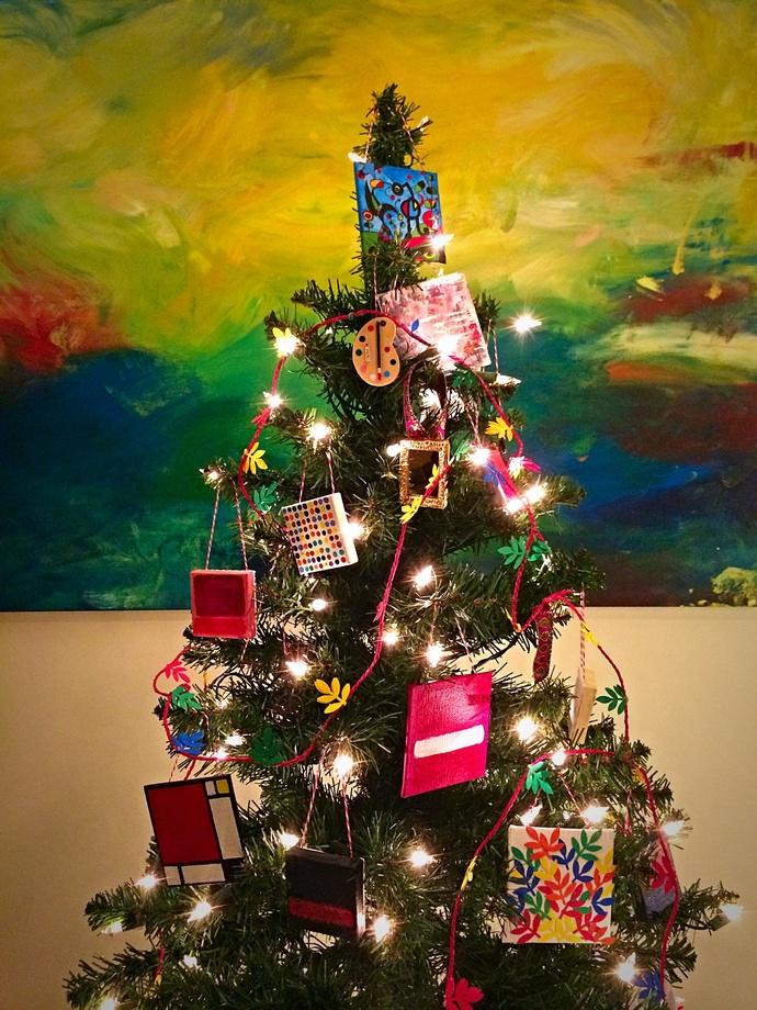 Seeing Spots-tree ornament