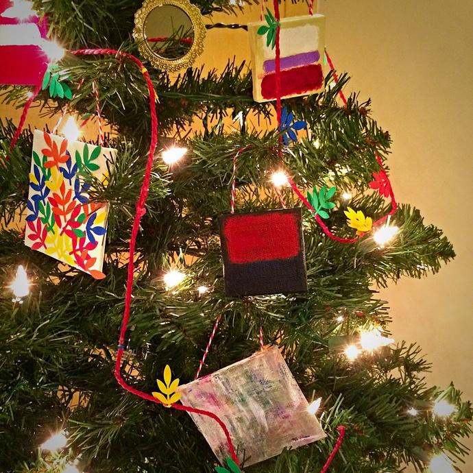 Abstraktes ornaments