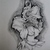 Original Drawing Of Lily, fine art, realism, botanical, floral, nature, flowers,