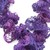 Purple Sashay Ruffle Scarf # 73