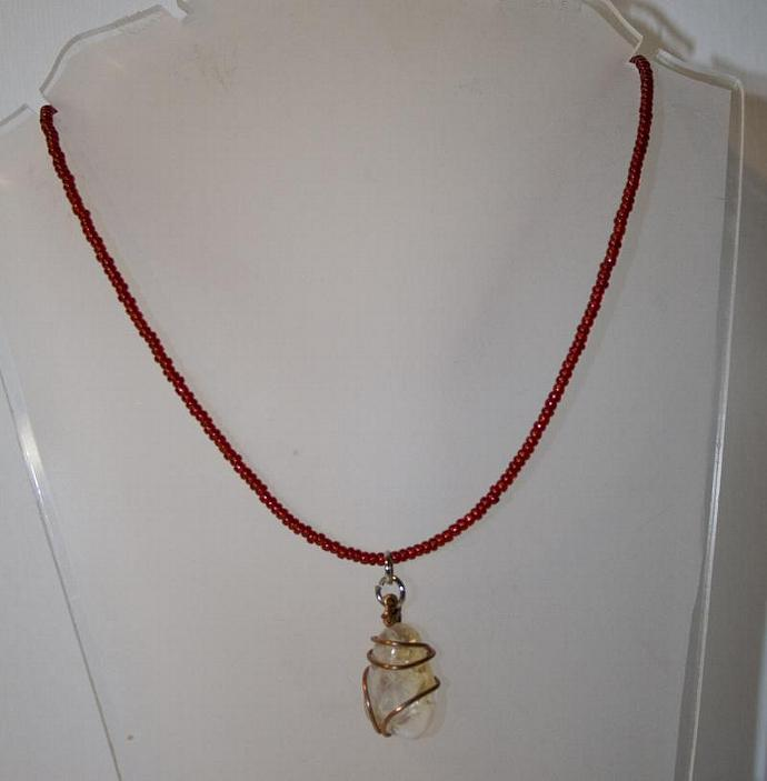 Ice Fire necklace