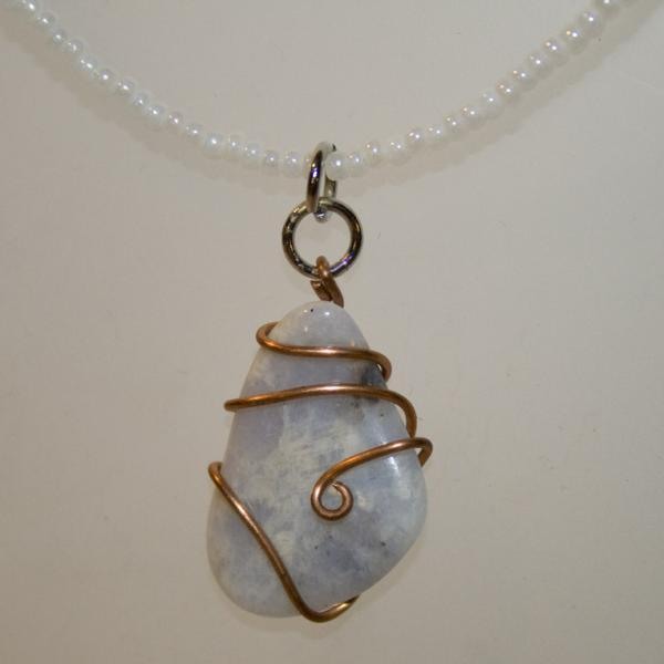 Snowfall necklace