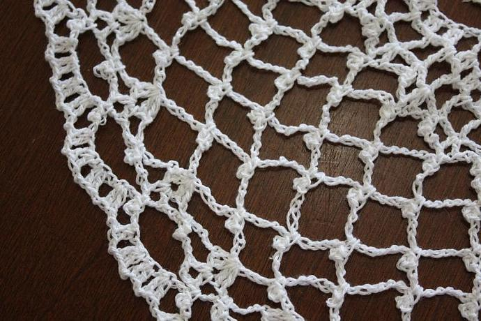 Crocheted Doily - Infinity - 20 Inch