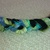 Black, Blues and Greens Braided Bracelet
