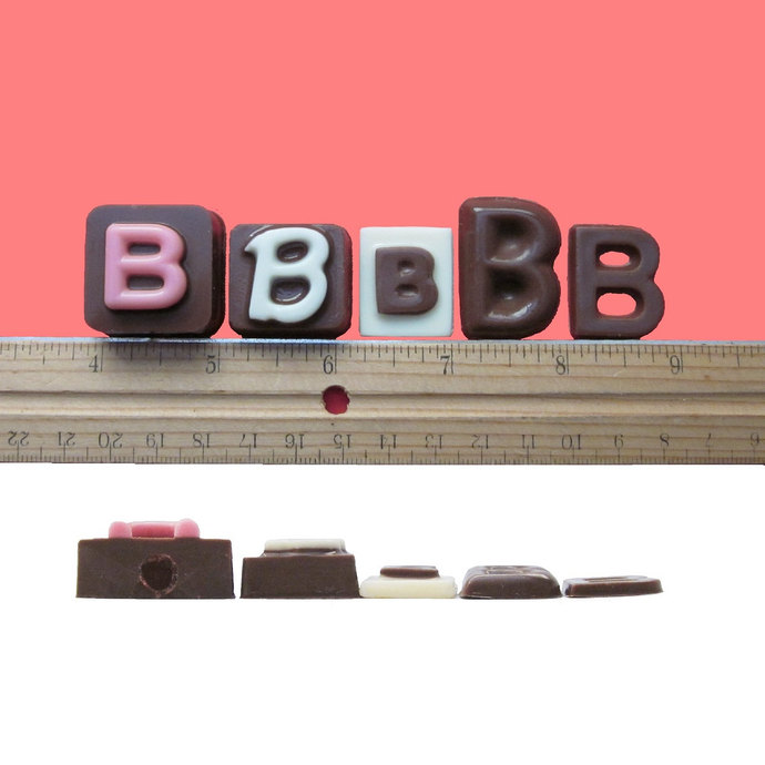 Be My Bridesman Cubic Chocolate Letters  Fun Creative Fun Way to Ask Invitations