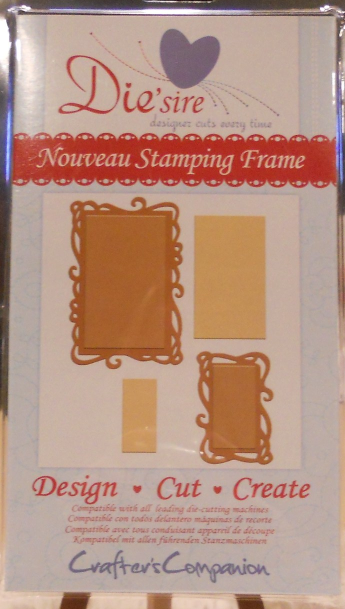 Nouveau Stamping Frame