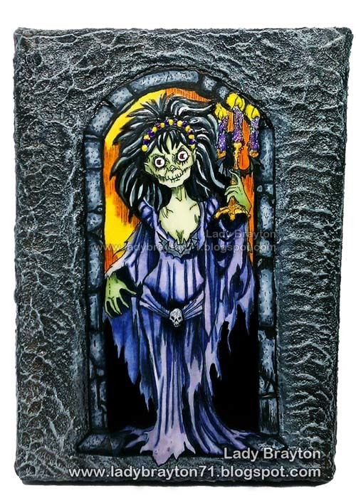Lady Greystone the Castle Ghost Ghost digi stamp
