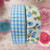 "2pcs Self Adhesive Fabric Washi Tape 5/8"" #1"