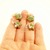 Cute Little Polymer Clay Star Earrings, Handmade