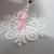 Royal Ballet Pointe Shoe Ballerina Charm - Silver/Pink