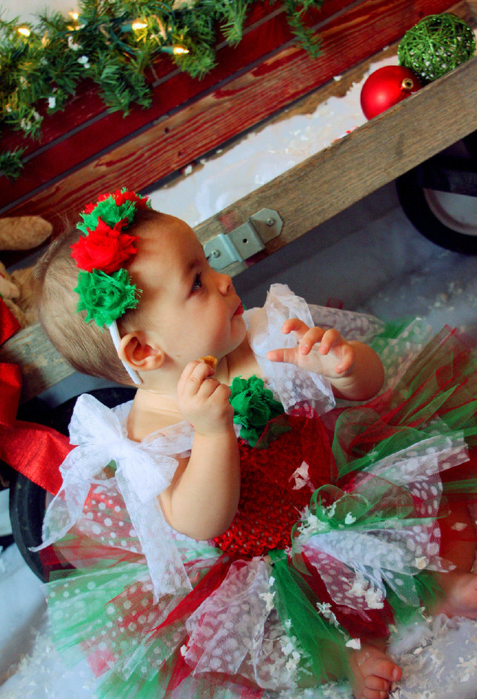 fea886e95c80 Christmas Tutu Dress, Red Green White Dress, Christmas Tutu, Holiday Dress,