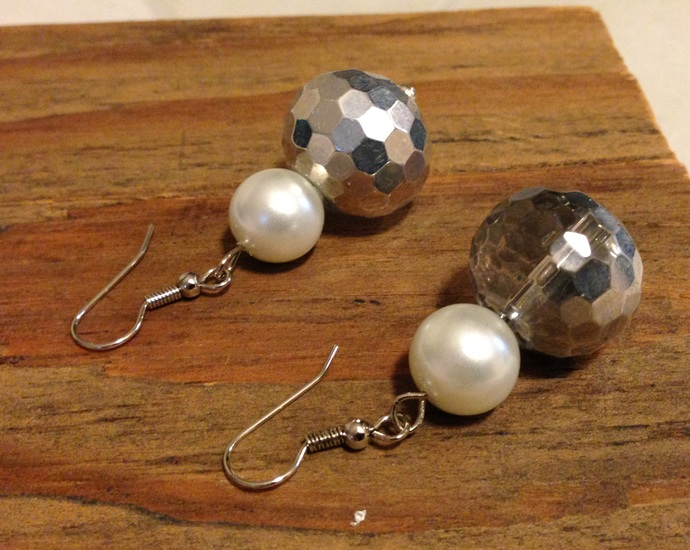 Pearls at the Disco Earrings