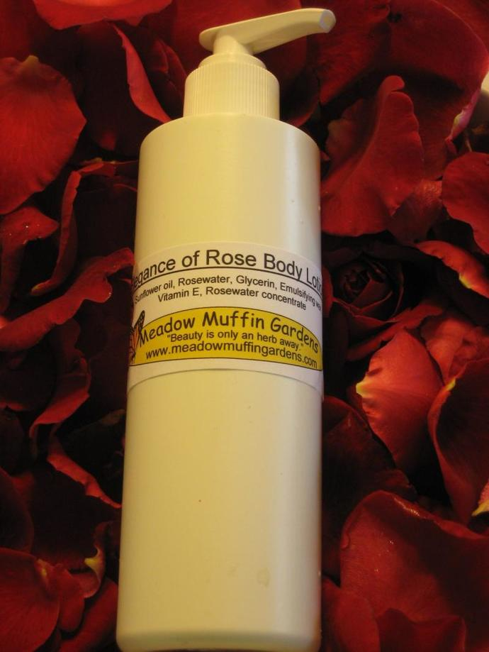 Rosewater n' Glycerin Hand and Body Lotion