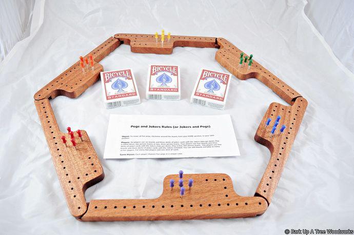 Pegs and Jokers Game Set - Khaya