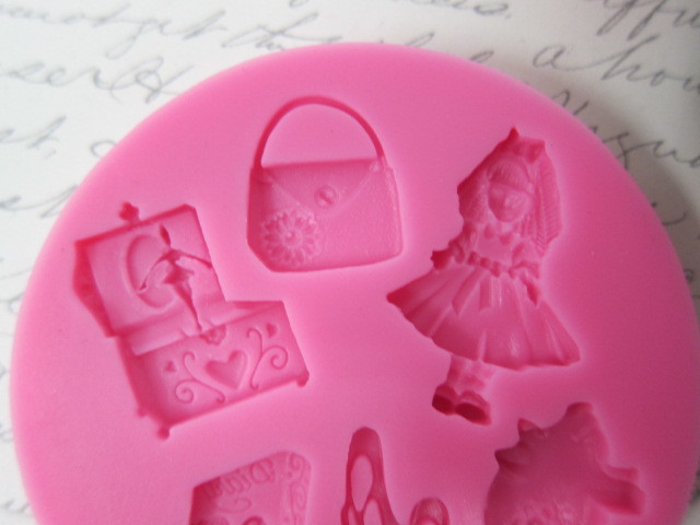 Alice in Wonderland Girl Ballet Ballerina Princess Silicone mold Soft Silicone