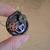 Steampunk gears bezeled compass pendant