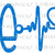 Decal Featuring Nurse Life with Heartbeat and Stethoscope Decal Sticker Nursing