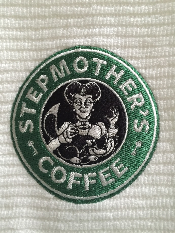 STEPMOTHER'S COFFEE coffee bar towel