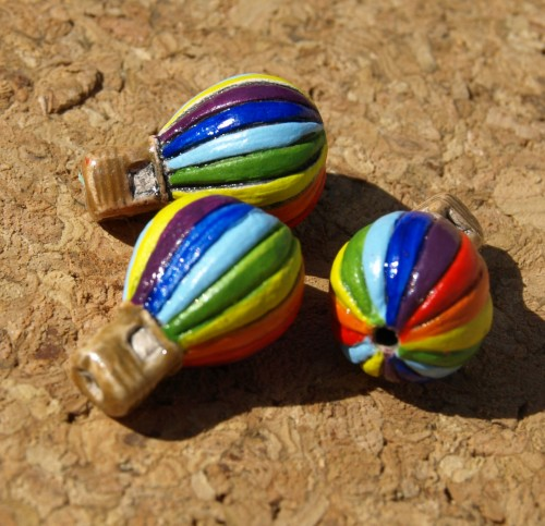 Hot Air Balloon Beads