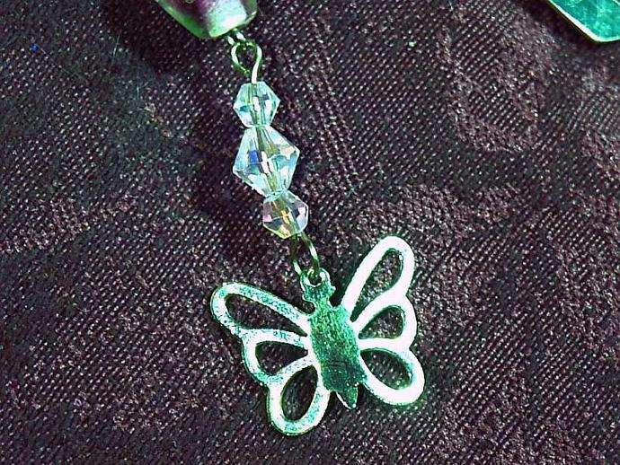 Beaded Butterfly Bookmark