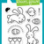 Lawn Fawn Happy Easter Clear Acrylic Stamp Set